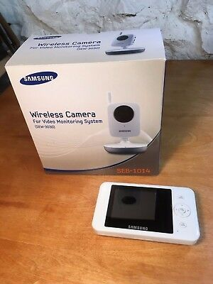 Samsung Wireless Camera for Video Monitoring System (SEW-3030) Baby Monitor