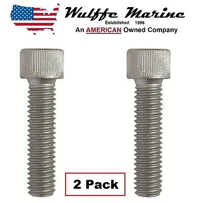 Trim Tab Anode Bolts for Mercruiser & Mercury Outboards 10-32470 18-6245 2 pack