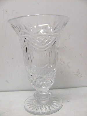 Waterford Crystal Lismore Vase 9 78 Tall 7500 Picclick