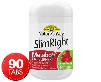 Nature's Way Metabolift Fat Burner 90 Tabs