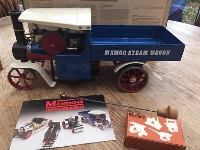 Vintage Mamod Steam Wagon  Ex- Display Model Boxed  Never Been Fired Up