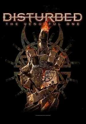 "Disturbed Flagge / Fahne ""the Vengeful One"" Poster Flag Posterflag"