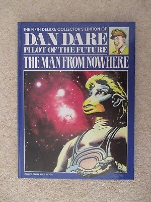 Dan Dare: The Man From Nowhere, Deluxe Hardback Collector'sFirstEdition