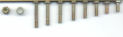 AN3 Bolt...Nut...Washer Assortment (4A to 13A)
