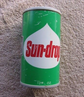 RARE Vintage Sun-Drop Soda Pop Logo Working Advertising AM Can Radio