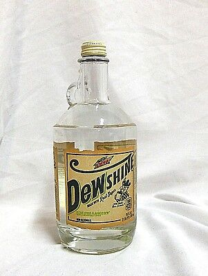 Mountain Dew DewShine Dew Shine 25 MTn Oz Glass Jug Limited Edition 2015
