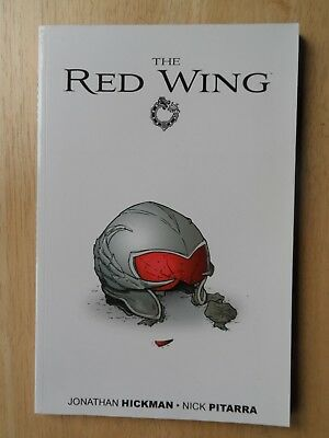 THE RED WING (VOL 1) -  GRAPHIC NOVEL TPB - IMAGE COMICS - 1st Print