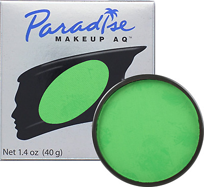 Mehron Makeup Paradise AQ Face & Body Paint - Amazon Green: Tropical Series 40gm