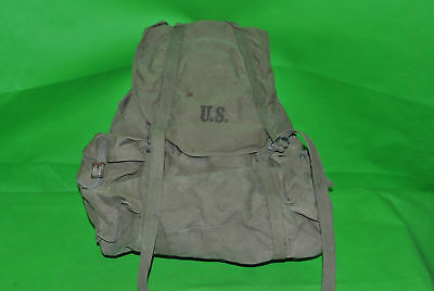 Salty WW2 US Army Mountian Ruck sack backpack Meese Inc. 1942 dated A-80