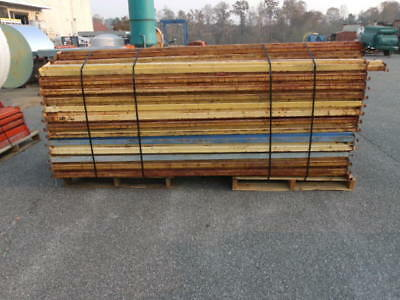 "Republic Style Pallet Rack Cross Beams 100"" - Lot of 87"
