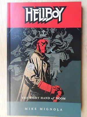 HELLBOY: The Right Hand of Doom - Graphic Novel TPB - Mike Mignola - 1st Edition