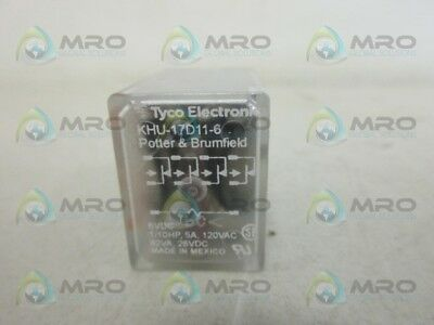 Tyco Khu-17D11-6 Relay *new No Box*