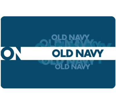Old Navy Gift Card $25, $50, or $100 - Fast email delivery