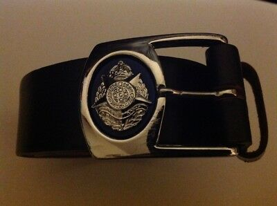 Victoria Police Kings Crown Belt and Buckle