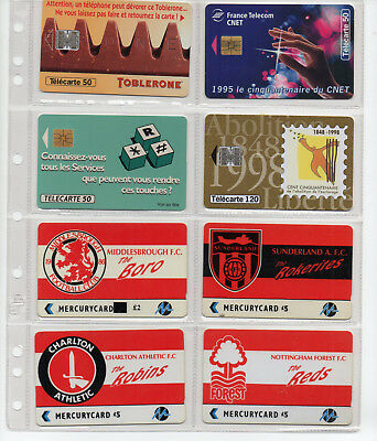 88 schede telefoniche dal mondo - 88 phone cards from the World