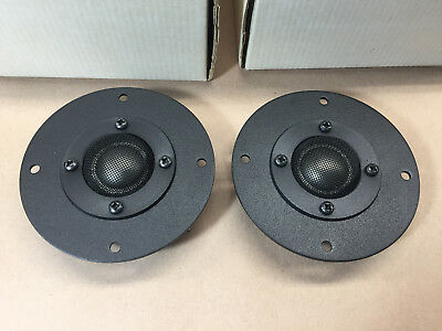 *PAIR, NOS* Audax DTW100T125 8 Ohm Tweeters *NEW IN BOX*