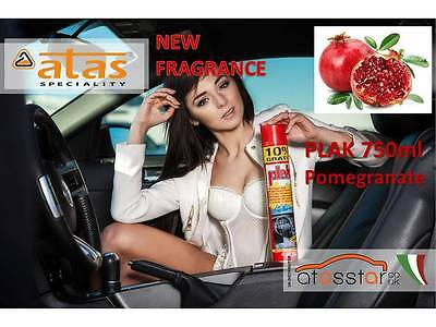 PLAK pomegranate dashboard plastic polish vinyl 750 ml Made in Italy by ATAS