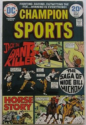 Champion Sports #3 (Feb-Mar 1974, DC), VFN condition, last issue of the series