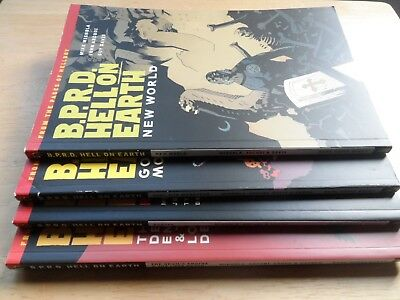 B.P.R.D: Hell On Earth - Vols 1 2 3 4 - TPB Lot - Mike Mignola - 1st Editions