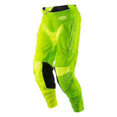 2017 Troy Lee Designs GP Air 50/50 Pants Green/Yellow adults