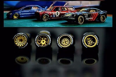 KREAuto 1/64 Custom Wheels for 1:64 scale diecast cars *Better than Real Riders*