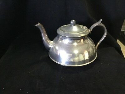 Silverplated Teapot / Hot Water Pot Silver Plated Tea Vintage Antique