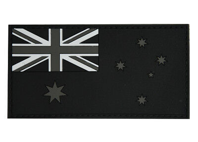 PVC Australian Flag Patch - Subdued Finish - New