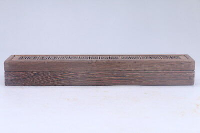 100% natural Exquisite Chinese hand carving Chicken wing wood Aroma Box AC105