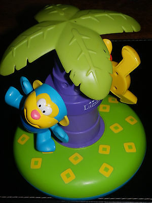 Lamaze Press N' Spin Safari Friends