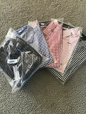 Galaxy by Harvic Men's Slim Fit Button Down Shirts Size Small Lot of 5 Shirts