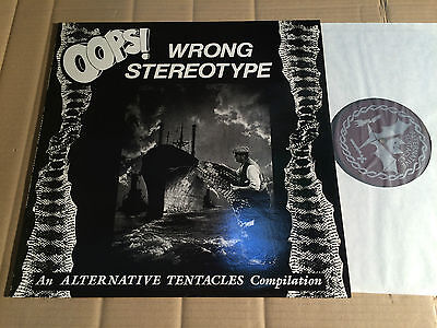 V/a - Oops! Wrong Stereotype - An Alternative Tentacles Compilation - Lp