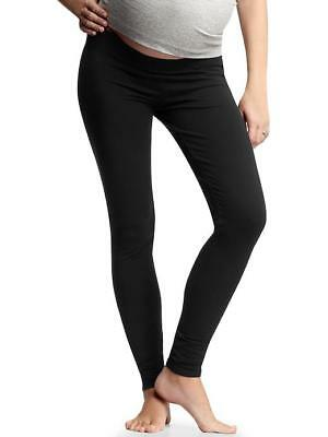 Set of 2 GAP Maternity Basic Leggings in Small True Black, Soft & Comfortable