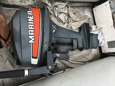 9.9 HP Mariner Outboard with FREE  Fuel Tank