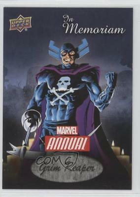 2016 Upper Deck Marvel Annual In Memoriam #IM-3 Grim Reaper Non-Sports Card p4v