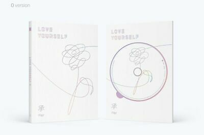 BTS-[Love Yourself'Her'] 5th Mini Album O Ver CD+BTS Poster+Book+Card+etc+Gift