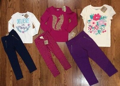 Crazy 8 Toddler Girl Lot Size 4T NWT
