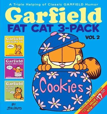 Garfield Fat Cat 3-Pack: v. 2 by Jim Davis 9780345464651 (Paperback, 2005)