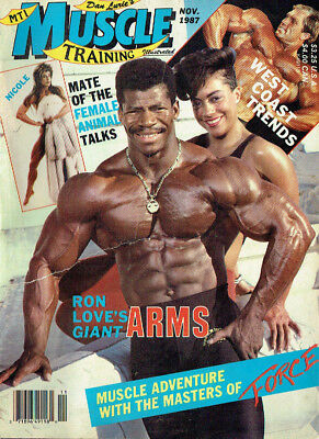 Muscle Training Illustrated,November 1987,Fitness
