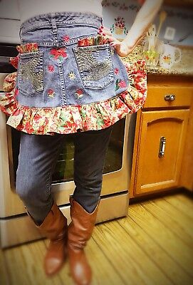 Susie Q's Country Western Style Apron