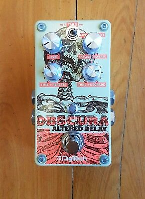 DigiTech Obscura Altered Delay Guitar Effects Pedal  AS NEW