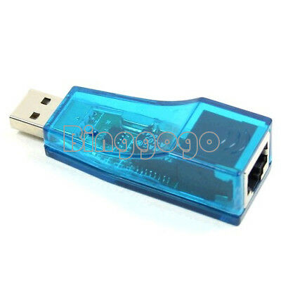 Fast Ethernet Network Card Adapter USB 1.0 2.0 to LAN RJ45 Laptop PC Nezwerk WIN