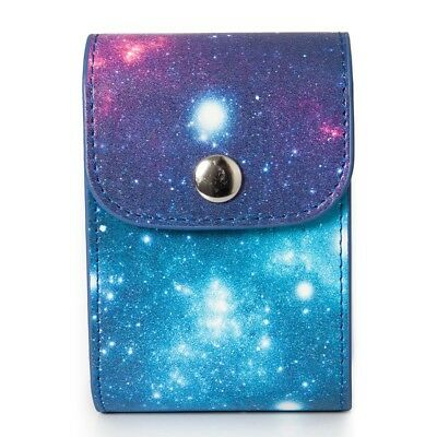 [Fujifilm Instax Mini Photo Case] - CAIUL Galaxy Starry Sky PU Leather Case Bag