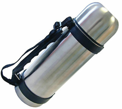 1.0Ll Stainless Steel HOT/COLD Vacuum Thermos Flask 1000ml with Carry Handle
