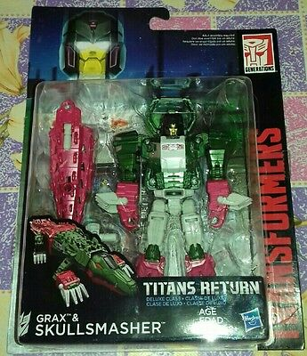 Transformers Titans Return - Grax & Skullsmasher - nuovo