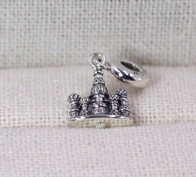 Pandora S925 Ale Moscow St. Basil's Cathedral Charm 791141 + Tissue & Pop-up Box