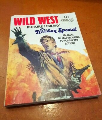 Wild West Picture Library Holiday Special 1981 Excellent Condition