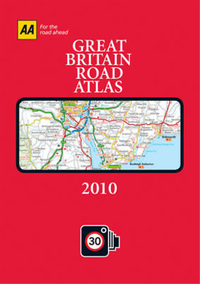 AA Great Britain Road Atlas 2010 (AA Atlases and Maps), AA Publishing, Used; Goo
