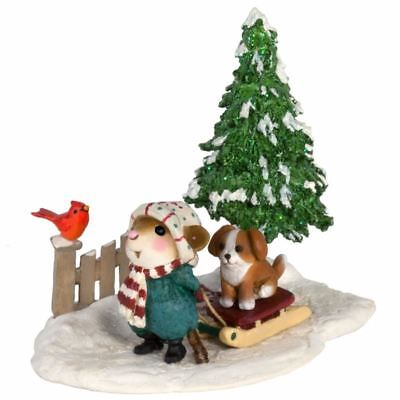 Wee Forest Folk M-418b Puppy Love - Limited