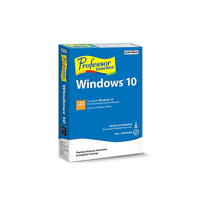 Professor Teaches Windows 10 Training PMC-W10