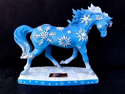 """Westland Horse Of A Different Color """" Snowflakes Figurine  """"  #001 of 10,000"""
